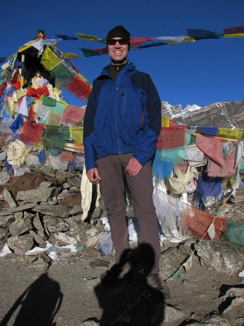 Me on Gokyo Ri, Nepal